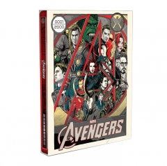 [BE33]**Mondo X Steelbook** The Avengers Blu-ray - Variant Edition (2D , Numbered)