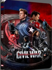 [BE37]Captain America: Civil War Blu-ray-Quarterslip Edition