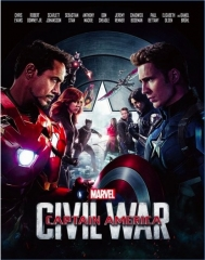 [BE37]Captain America: Civil War 3D Blu-ray-FullSlip Edition