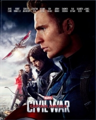 [BE37]Captain America: Civil War Blu-ray-Lenticular Type A