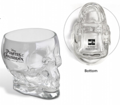 PIRATES OF THE CARIBBEAN Skull Glass