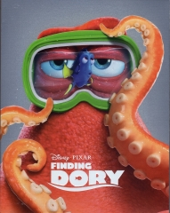 "[BE38]Finding Dory 3D Blu-ray ""HANK"" Full Slip Edition"